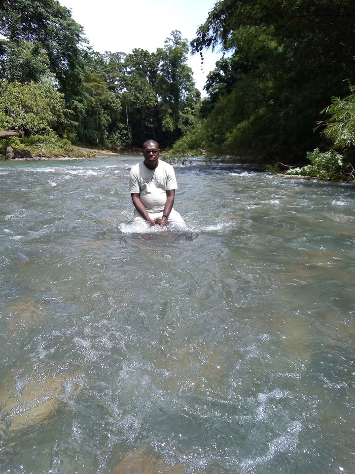 Shallow river is ideal for safe bathing
